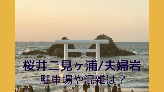 夫婦岩(二見ヶ浦)の夕日