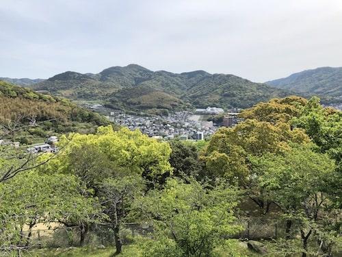 立山公園【長崎/桜の名所】駐車場や混雑具合は?〜桜の時期はどう?